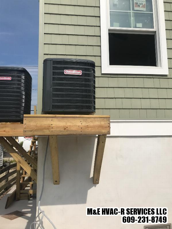 Goodman 3 ton AC unit Installation